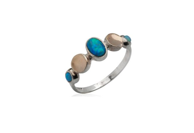 $105_-925-SILVER-&-9K-GOLD-RING-SET-WITH-AND-Opal_Gifted-Unique