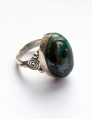 Sterling Silver Torquoise Ring