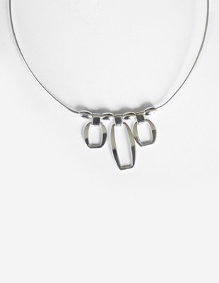 Sterling Geometric Collar
