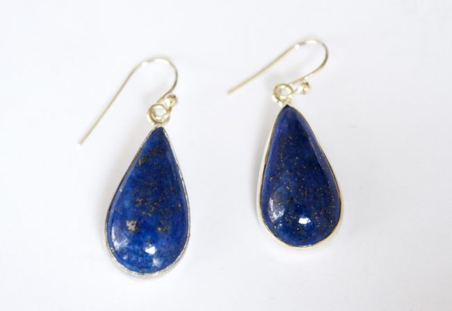 Lapis Earrings Gifted Unique