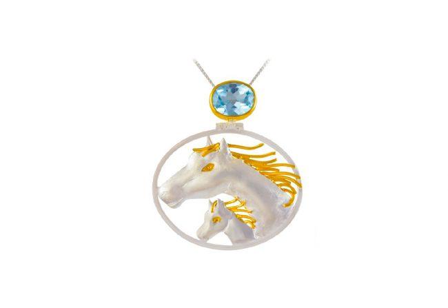Horses Pendant
