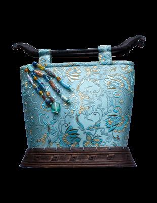 Rare Nechima Silk Handbag