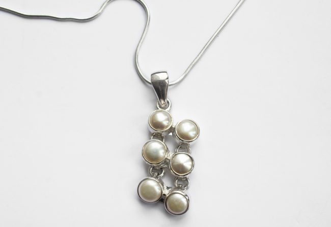 Pearl Cluster Necklace | Gifted Unique