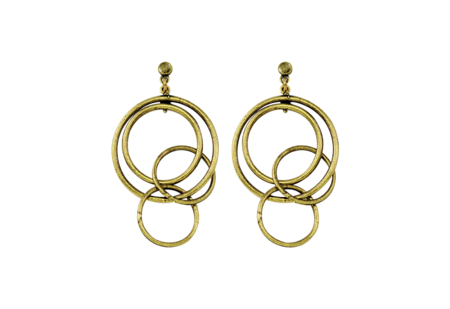 Cool Metal Hoop Earrings