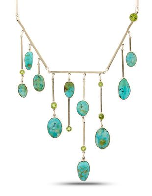 Turquoise Legacy Caribbean Blues Necklace