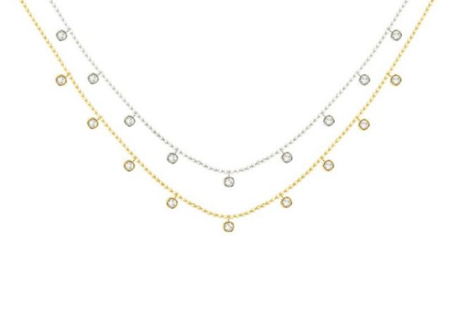 Cleopatra Diamond Necklace