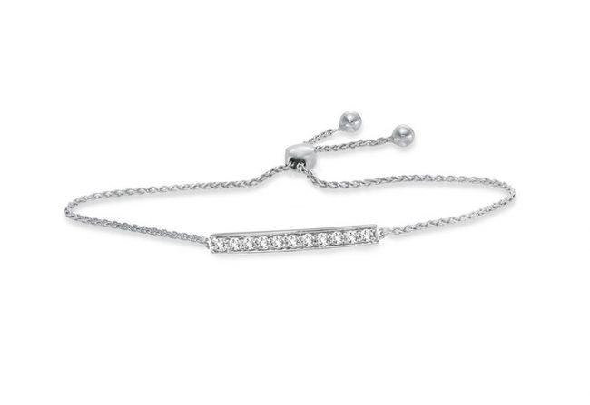 Classic Bolo Diamond Bracelet