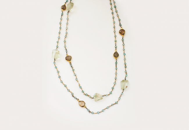 Layering-Necklace-Green—Center-It
