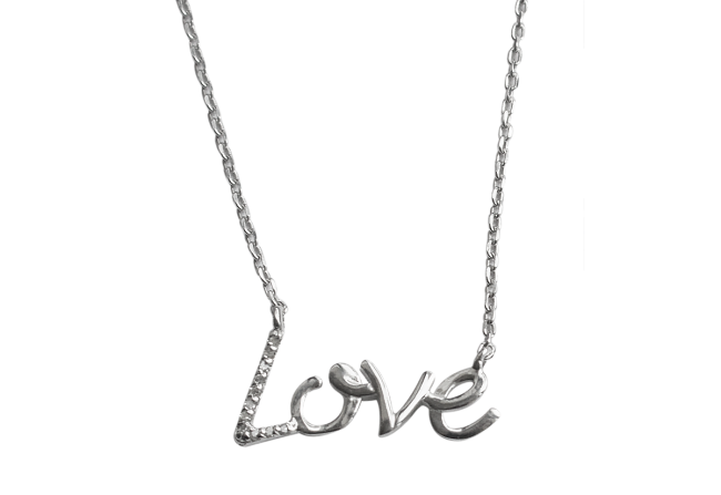 Love diamond necklace Gifted Unique