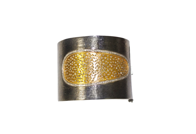 Diamond Cuff Bracelet Gifted Unique