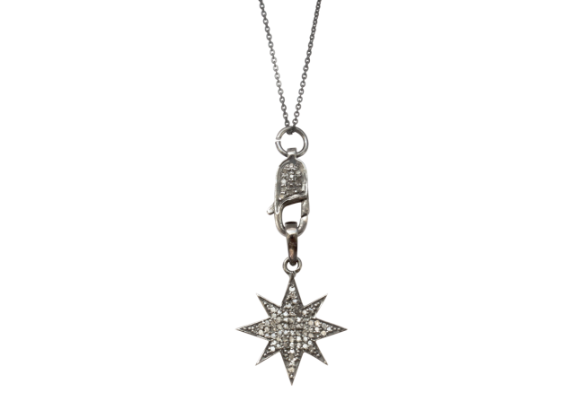 Diamond star pendant Gifted Unique