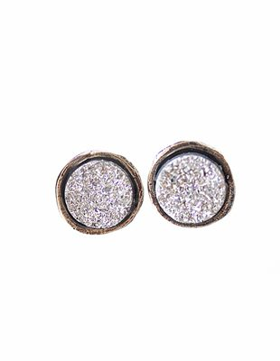 Glimmer Druzy Earrings
