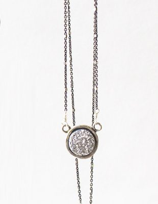 Lucky Druzy Necklace