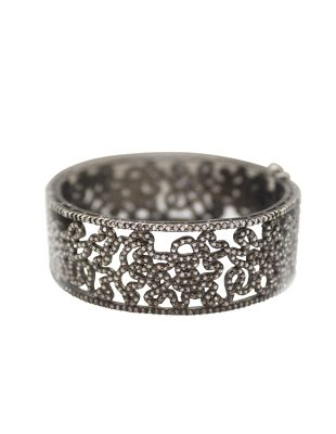 Filigree Diamond Cuff