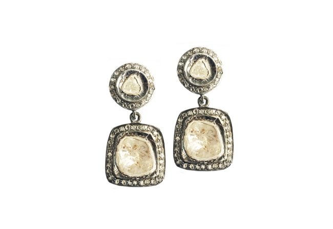 Sliced-Diamond-Earrings-.78-Carat