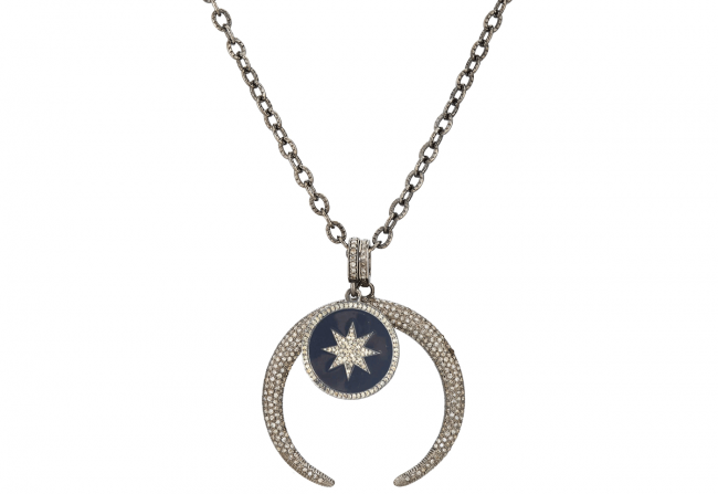 Celetial-and-Diamond-Pendant