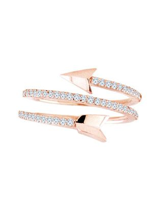 Arrow diamond ring $975