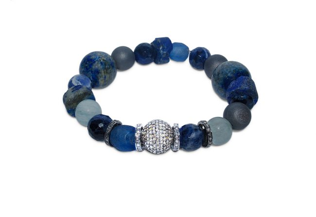 Lapis-and-Diamond-Bracelet-Gifted-Unique