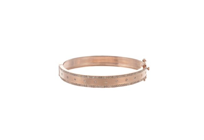 Rose gold and diamond cuff_LG