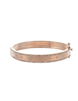 Rose Gold and Diamond Cuff