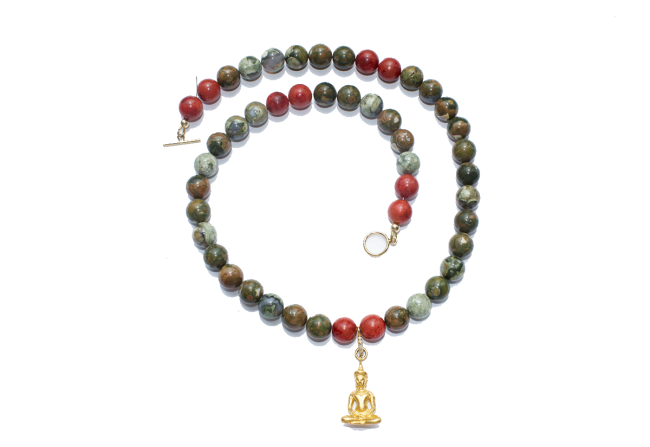 Jasper-and-coral-and-buddha