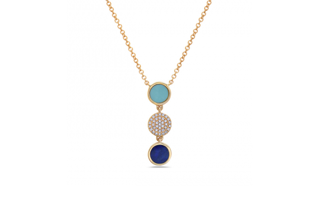 Lapis,-Turquoise,-Diamonds,-YG