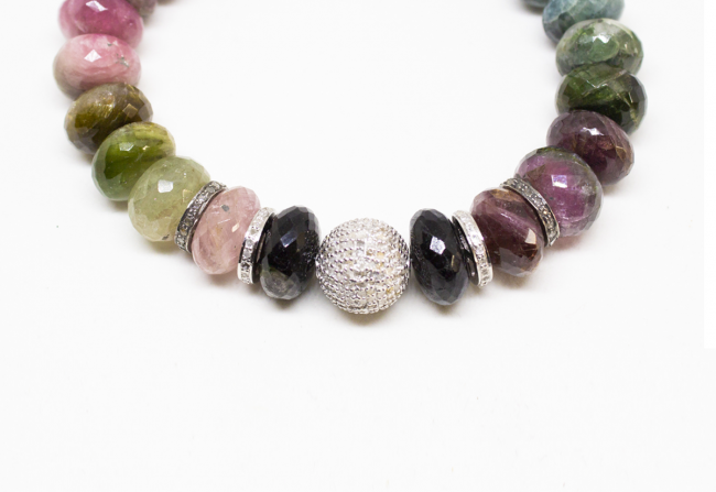 Beautiful-Rainbow-and-Tourmaline-Bracelet-Gifted-Unique