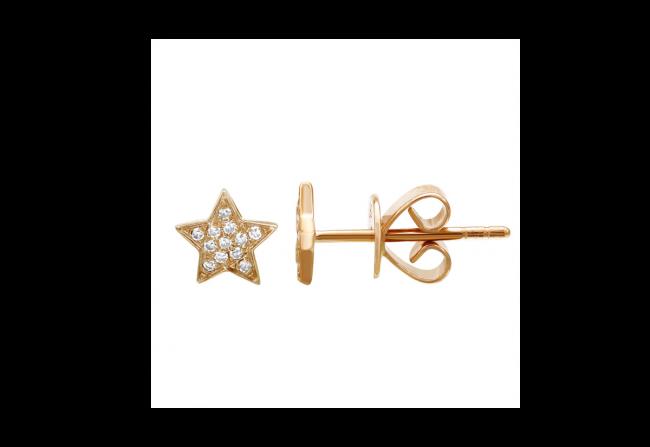 Diamond-Star-Studs